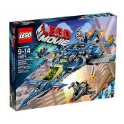 Lego Benny's Spaceship. Spaceship, Multi Color
