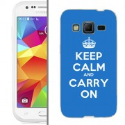 Husa Samsung Galaxy Core Prime G360F Silicon Gel Tpu Model Keep Calm Carry On
