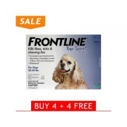 Frontline Top Spot Medium Dogs 23-44lbs (Blue) 4 + 4 Free