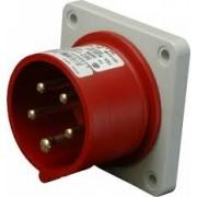 Stecher trifazat incastrat 400V IP54 IRRN 3253 SEZ