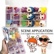 Lywey Big Surprise Random Cutest Little Toys Adorable Mini Dolls for Surprised Dolls Case Gift for Children for Kids