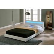 Corium® Moderní manželská postel HTB-1014 180x200 cm bílá