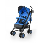 Poussette Canne Compacte Enfant Bébé 6m+ Avec Équipement Meteor | Bleue