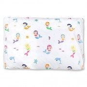 Wildkin Microfiber Pillow Case, Super Soft Pillow Case, Bold Patterns Coordinate with Other Bedding and Room Décor, Olive Kids Design Mermaids