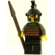 LEGO Castle Minifig Knights Kingdom I Gilbert the Bad Black Dragon Helmet
