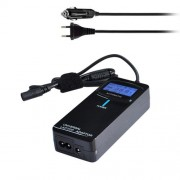 POW-ULA90-EU Laptop Notebook Power 90W Universal Charger with Car Charger & AC Power Adapter & 12 Power Adapters for Samsung Sony Acer DELL HP Lenovo(Black)
