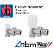 "Pachet robineti RBM 1/2"" (tur,retur)"