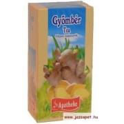 Apotheke - Gyömbér Tea, 20 filter
