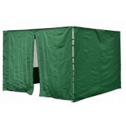 Sada 2 bočných stien pre PROFI záhradný stan 3 x 3 m zelená