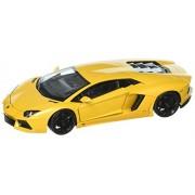 Lamborghini Aventador LP 700-4, metallic-yellow, Model Car, Ready-made, Welly 1:24