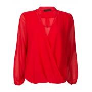 Fashionize Top Overslag Rood