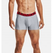 Under Armour Herenboxer UA Tech™ 8 cm Boxerjock® – 2 stuks - Mens - Gray - Grootte: Small