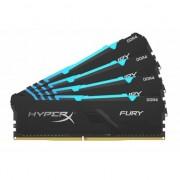 Kingston HyperX Fury RGB HX434C16FB3AK4/64 64GB (16GB x4) DDR4 3466MHz Ram