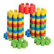 SARTHAM Pagoda Blocks, Block Games for Babies, 3-8 Years (Multicolour)