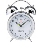 Ceas desteptator cu cuart Eurochron EQWG 53, argintiu