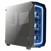 Caixa AEROCOOL PROJECT 7 ATX 1XRGB HUB, DOUBLE SIDED TEMPERED GLASS WINDOW, USB3.0 - P7C0PRO