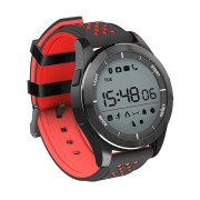 NO.1 F3 IP68 Waterproof Sleep Monitor Pedometer Sport Fitness Bluetooth Smart Watch for IOS Android