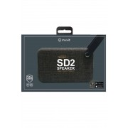 Muvit SD2 Bluetooth Speaker - Black - Nero