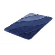 Kleine Wolke Badteppich Serenade 70 x 120 cm Blau Polyacryl