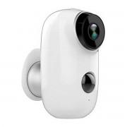 PROXE Telecamera A Batteria 1 Mpx Wifi 8 Led Ir Da Interno-Esterno Ip65 Autonomia Batt 3 Mesi