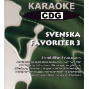 Svenska Favoriter 3. 13 låtar