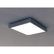 LED Deckenleuchte Wandleuchte Callas Square 25W 5000K 27x27cm IP54 darkgrey 10752