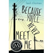 Because You'll Never Meet Me, Hardcover/Leah Thomas