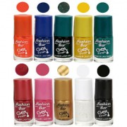 Fashion Bar Gel Finish Exclusive Nail Polish Set