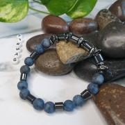 Bratara piatra - Deep Blue