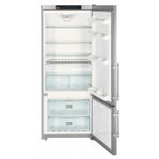 Combina frigorifica Liebherr CNPesf 4613 No Frost, MagicEye Control, DuoCooling, 420 L, clasa A++, silver