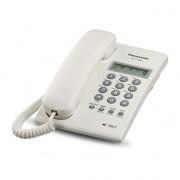 Teléfono Panasonic KX-T7703 análogo c/identificador blanco