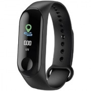 Mobiashta M3 Fitness Band with OLED Curved Display Whatsapp/Call Notifications Blood Pressure Heart Rate Sensor Smart
