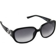 Tommy Hilfiger Rectangular Sunglasses(Grey)