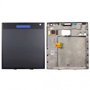 iPartsBuy for BlackBerry Passport Q30 LCD Screen + Touch Screen Digitizer Assembly with Frame(Black)