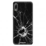 Odolné silikonové pouzdro iSaprio - Broken Glass 10 - Huawei Y6 2019