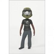 Mc Farlane Toys Action Figure Halo Avatar Figures Series 2 Anniversary Helmet(2.5 Inch)