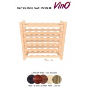 Raft VinO din lemn 6x6 - 36 sticle