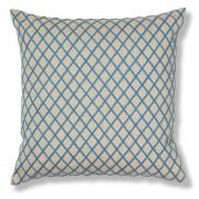 La Forma Sierkussen Martina beige/blauw 100% katoen (45 x 45 cm)