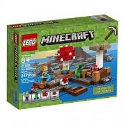 LEGO Minecraft The Mushroom Island 21129 Building Kit (247 Pieces)