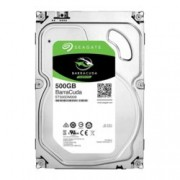"Твърд диск 500GB Seagate BarraCuda, SATA 6Gb/s, 7200 rpm, 32MB кеш, 3.5"" (8.89cm)"