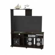 "Mueble Rack TuHome para TV 46"" Magallanes - Wengue"