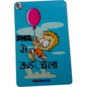 Thoughtroad Phir Se Ud Chala Luggage Tag(Blue)