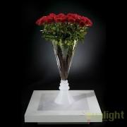 Aranjament floral elegant, VASE SERENA trandafiri rosii, 125cm 1141134.31