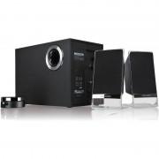 Boxe M 200 Platinum, 2.1, 50W RMS, Negre