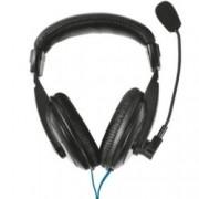 Trust Quasar Headset, микрофон, 30Hz - 16kHz честотен диапазон, 1.8 м кабел, черни
