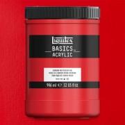 Liquitex Basics akrilfesték, 946 ml - 151, cadmium red medium hue