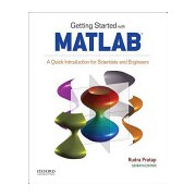 Getting Started with MATLAB (Pratap Rudra)(Paperback) (9780190602062)
