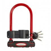 Anti-diefstal U Masterlock Rood 11 X 21 Cm Voor Op De Fiets