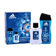 Adidas UEFA Champions League confezione regalo eau de toilette 100 ml + doccia gel 250 ml uomo