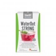 Sensilab WaterOut STRONG Přírodní diuretika Odvodnění organismu a hubnutí Kúra na 10 dní Malinový nápoj 10 sáčků